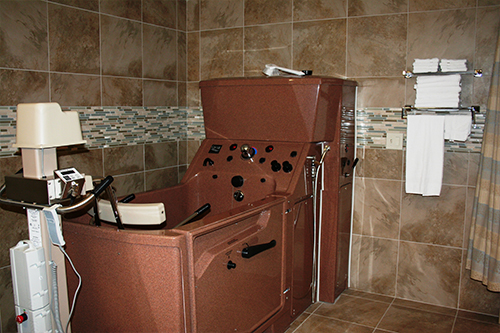 Cottages Private Bathroom